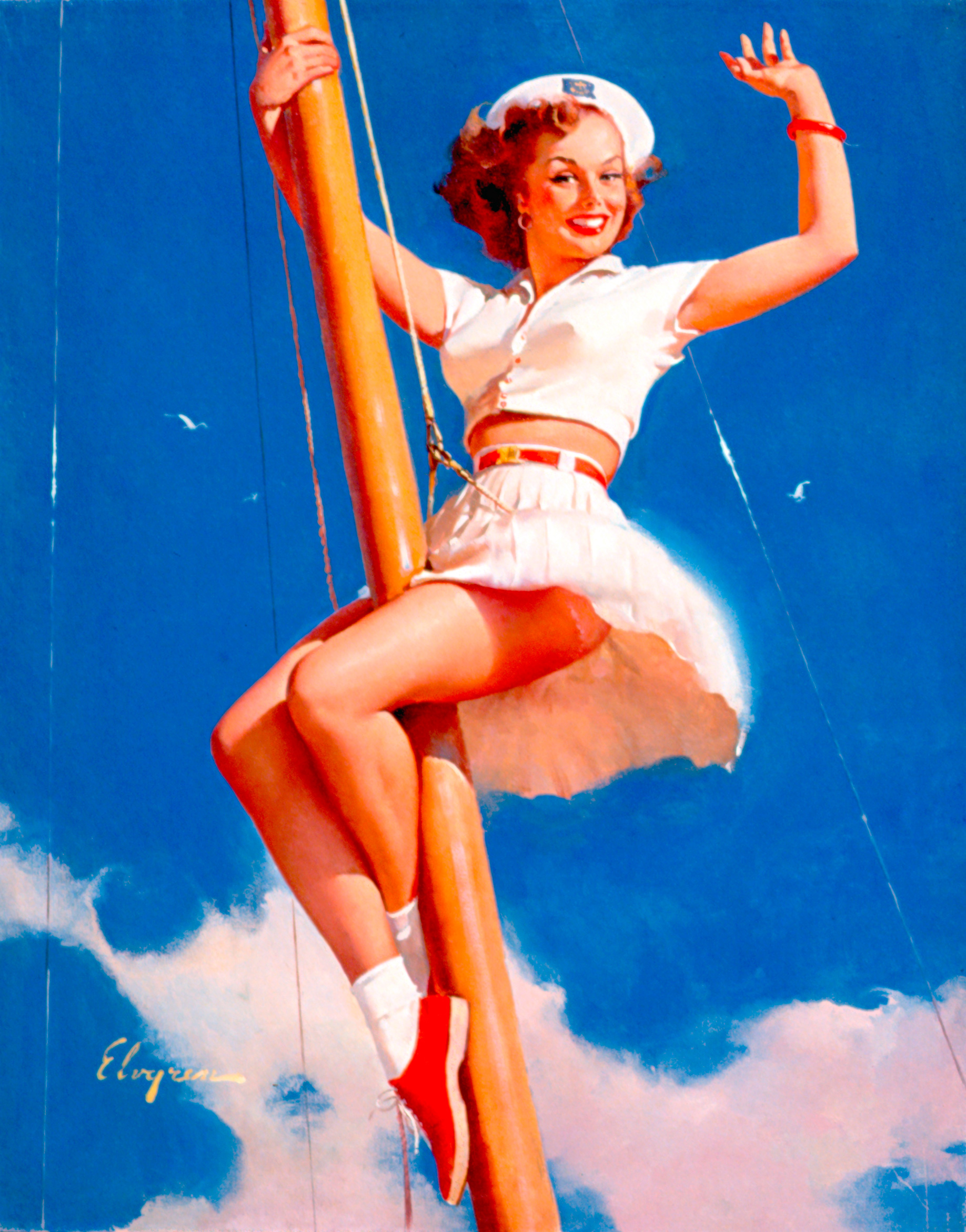 postcards Sailor vintage